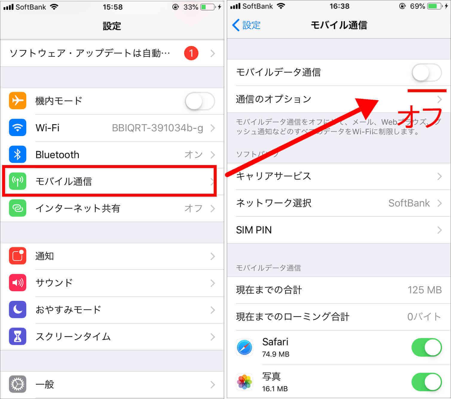 海外 スマホ 注意 モバイルデータ通信